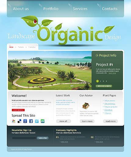joomla templates for asp net template 31361 organic landscape joomla template