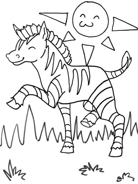 zebra coloring pages  print realistic coloring pages