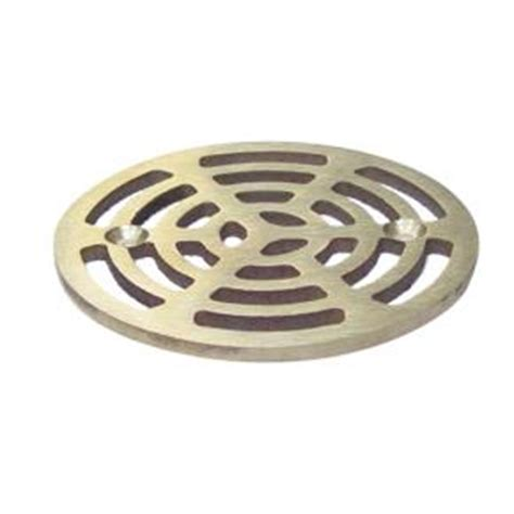 10 Inch Floor Drain Cover by Commercial 4 Quot Nickel Floor Drain Strainer Etundra