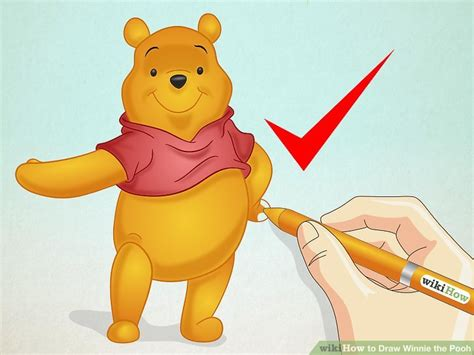 imagenes de winnie pooh haciendo ejercicio how to draw winnie the pooh 15 steps with pictures