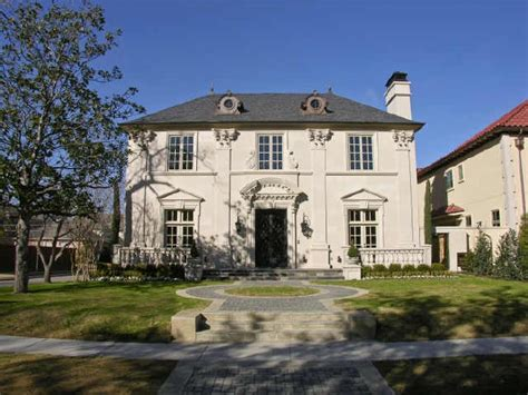 french chateau style french chateau style dallas texas homes european