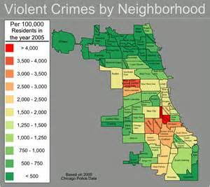 chicago crime map 2016 background back of the yards
