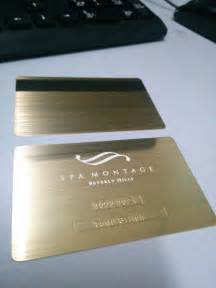 gold metal business cards gold metal business cards luxury and stylish free shipping