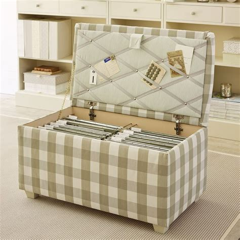Hanging File Storage Ottoman Hanging File Storage Ottoman