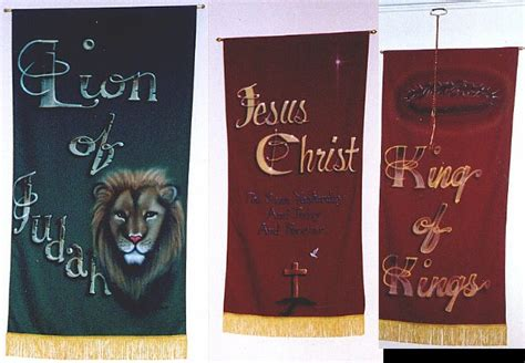 Handmade Church Banners - custom church banners