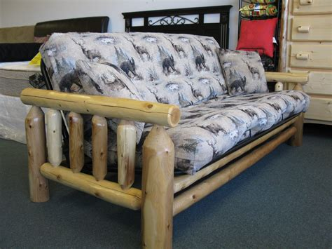 log futon bed log futon frame bm furnititure