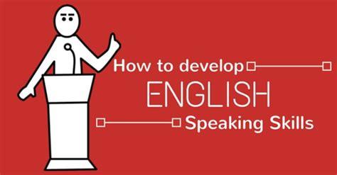 develop speaking skills