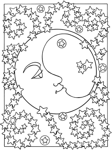 coloring pages for adults star free printable moon coloring pages for kids best