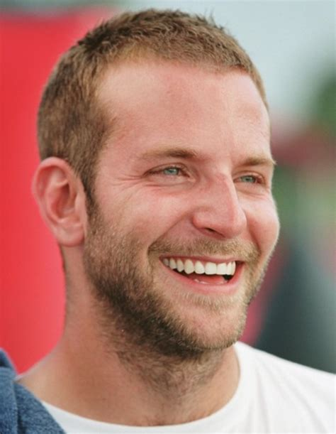 buzzed hair and balding bradley cooper short buzz cut very short haircut for men