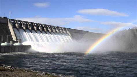 And The Floodgates Been Opened by Hartwell Dam Floodgates Open 1 23 2016