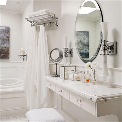 Floating make up vanity design ideas