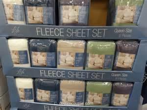 life comfort fleece sheet set