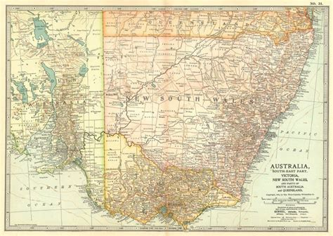 map of south east australia south east australia new south wales south