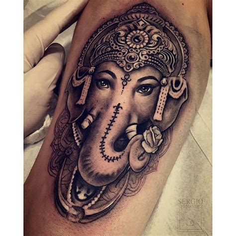 ganesha tattoo realistic best 25 ganesha tattoo ideas on pinterest ganesha