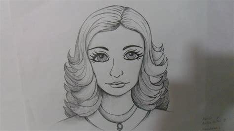imagenes para dibujar rostros dibujo en caricatura de rostro femenino rostro de se 209 ora