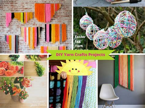 Handmade Craft Ideas For - 9 ways to make diy yarn crafts from your leftover yarn