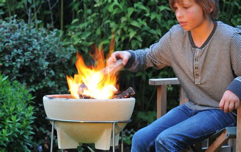 feuerschale terrasse feuerschale denk keramik