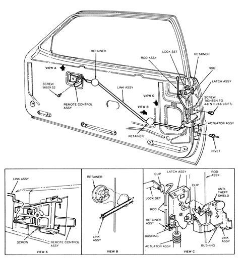 Interior Door Lock Mechanism 1991 Chevrolet Truck C1500 1 2 Ton P U 2wd 7 4l Tbi Ohv 8cyl Repair Guides Interior Door