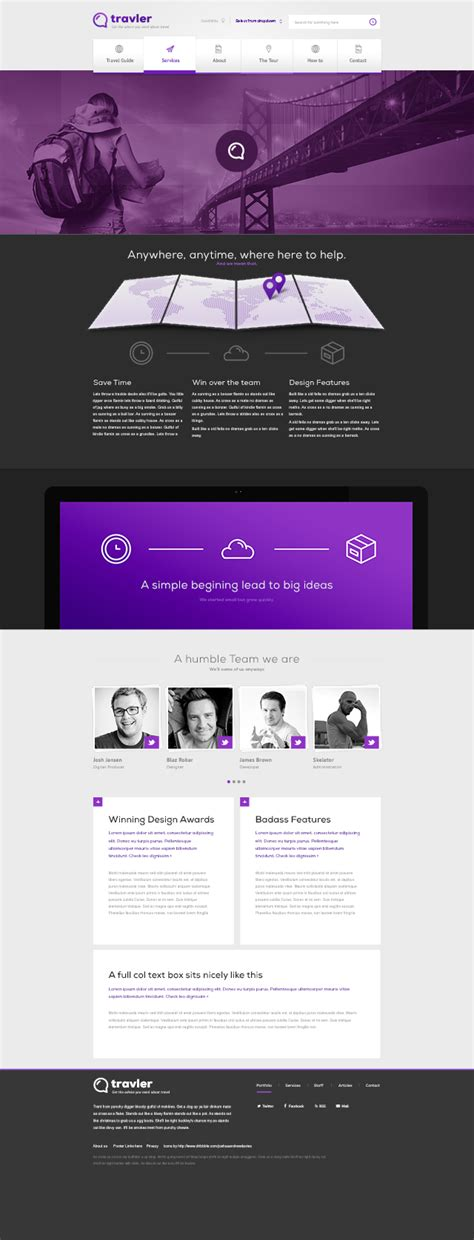 design free download psd responsive psd web templates 25 free templates psd