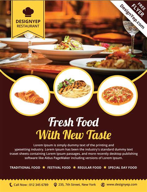 design flyer restaurant 32 free business flyer templates psd for download designyep