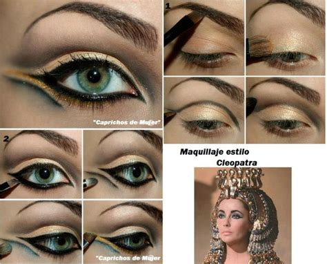 Tutorial Makeup Cleopatra | cleopatra makeup tutorial makeup ideas pinterest