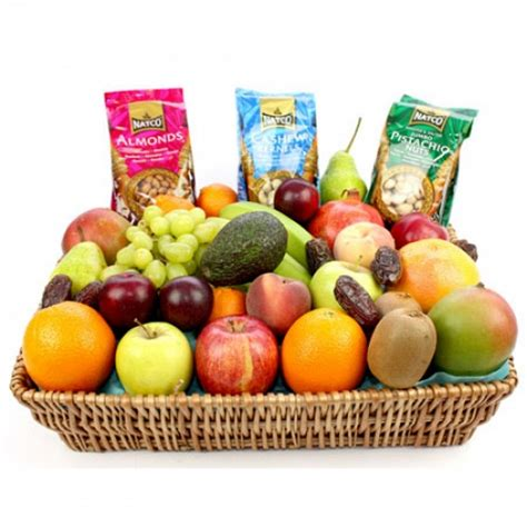 fruit and nut baskets fruit and nut basket send fresh fruits uk