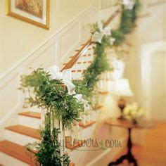 garland for stair banister stair banister on pinterest stair banister railings and stairs