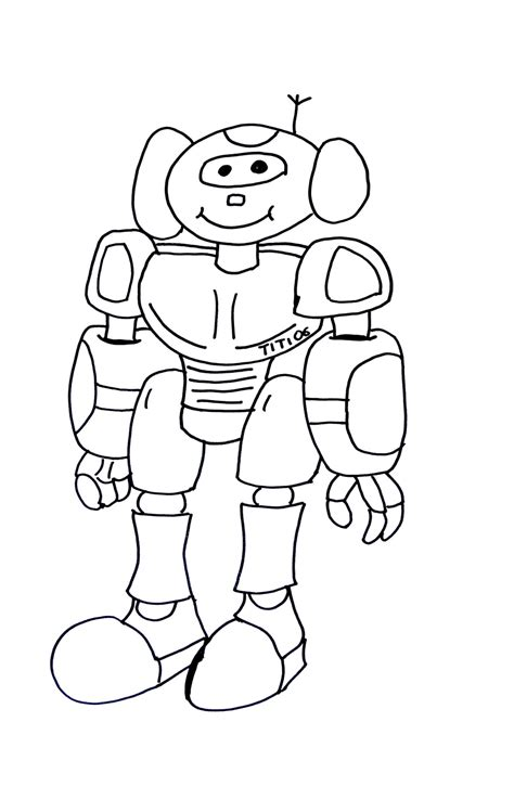 robot coloring pages pdf funny robot robots coloring pages for kids to print color