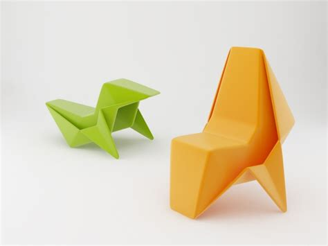 Origami Furniture - origami chair