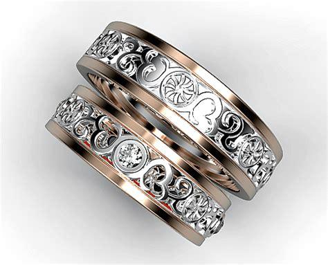 diamond matching ring vidar jewelry unique