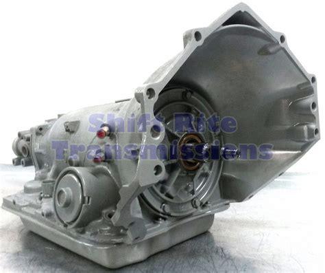 4l60e 1995 4x4 transmission 4 3l 5 0l 5 7l 6 2l 6
