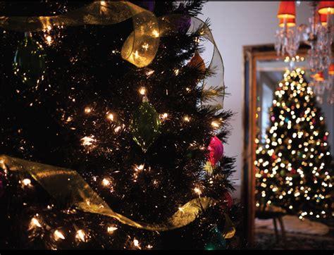 c 243 mo decorar un 193 rbol de navidad negro ideas art 237 culos