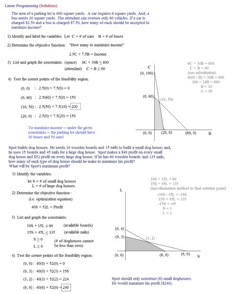 Linear Programming Worksheet With Answers by Glencoe Algebra 1 Worksheet Answers Quotes