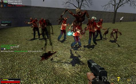mod game zombie a few random images zombie survival mod for garry s mod