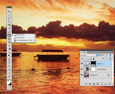 tutorial edit foto di photoshop cs3 cara membuat efek sunset pada foto dengan photoshop cs3