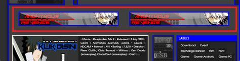 membuat header blog menjadi 2 bagian cara membuat slot banner slider menjadi 2 bagian curut