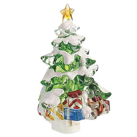 bed bath and beyond christmas lights lights in the night 7 quot christmas tree nite lite bed