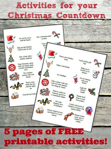 Advent Basteln Mit Kindern 3034 by 100 Activities For Your Advent Calendar Free Printables
