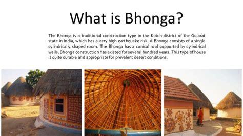 bhonga vernacular architecture  gujarat