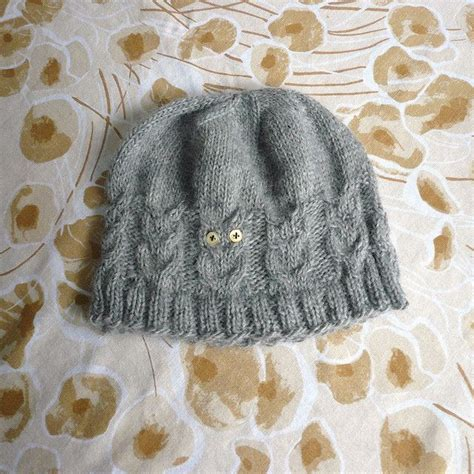 knitting pattern owl hat knitted owl hat for adults knitting crochet projects