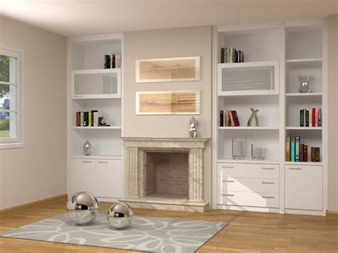 chimeneas de salon mueble de salon adaptado a chimenea onlinemuebles