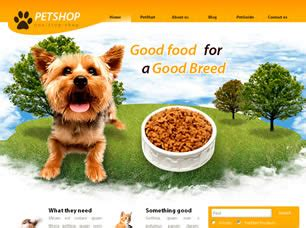 Pet Shop Free Website Template Free Css Templates Free Css Free Pet Store Website Templates