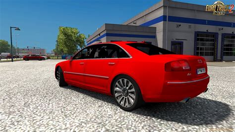 Audi W12 Interior by Audi A8l W12 Interior V1 0 1 26 X For Ets 2 187 Ets 2