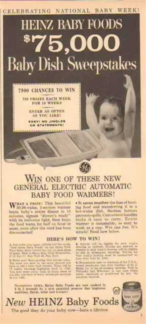 Dish Sweepstakes - vintage food advertisements of the 1960s page 30