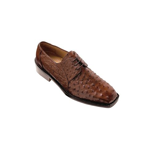 ostrich shoes belvedere fabio ostrich shoes brown mensdesignershoe