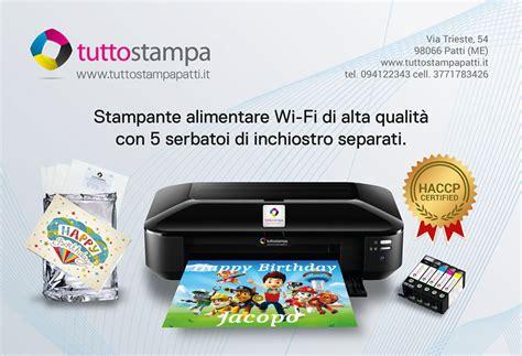 inchiostro alimentare vendita attrezzature informatiche stanti e inchiostri