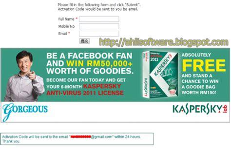 Lisensi Kaspersky Security kaspersky anti hacker promo k antivirus 2011 lisensi 6 bulan free software