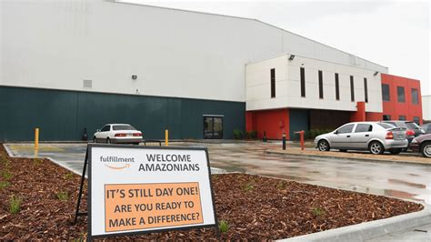 amazon in australia first photos of employees working at