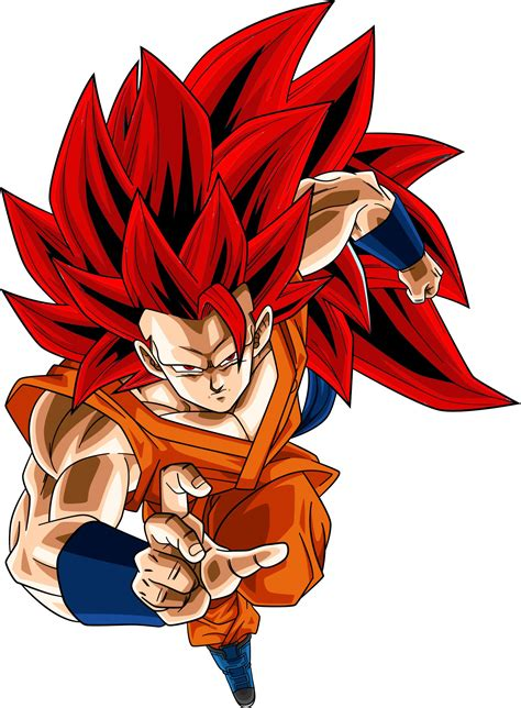 imagenes de goku rojo photoshop editando a goku ssj 3 dios azul a ssj 3 dios