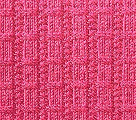 waffle stitch knit knitting galore saturday stitch waffle ribs